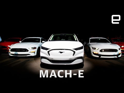 Ford's Mustang Mach-E straddles the world of EVs, SUVs and muscle cars - UC-6OW5aJYBFM33zXQlBKPNA