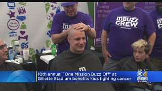 Rob Gronkowski Shaves His Head For One Mission Buzz-Off