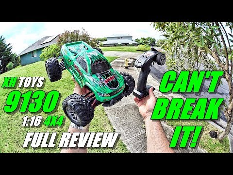 XH TOYS 9130 1:16 4x4 RC Truck Review - (Unboxing, Inspection, Bash Test!, Pros & Cons) - UCVQWy-DTLpRqnuA17WZkjRQ