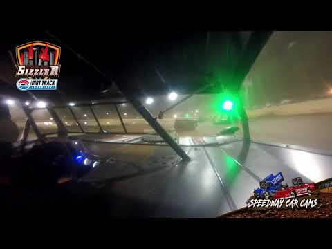 #J12 Jason Dickerson - 602 Late Model - Carolina Sizzler 7-18-21 - In-Car Camera - dirt track racing video image