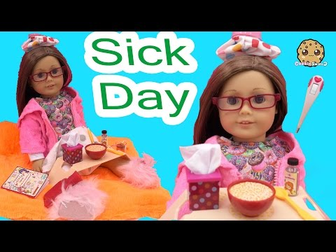 Sick Day - Get Well American Girl Doll with Our Generation Under the Weather Care Set - UCelMeixAOTs2OQAAi9wU8-g