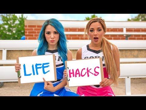 Back to School Life Hacks for Girls! Niki and Gabi - UCuVHOs0H5hvAHGr8O4yIBNQ