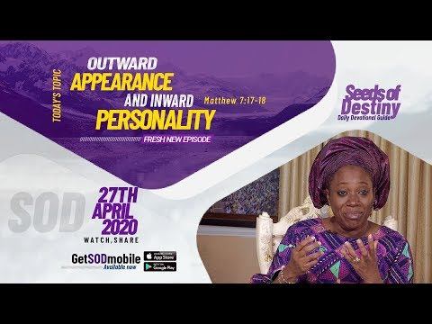 Dr Becky Paul-Enenche - SEEDS OF DESTINY  MONDAY APRIL 27, 2020