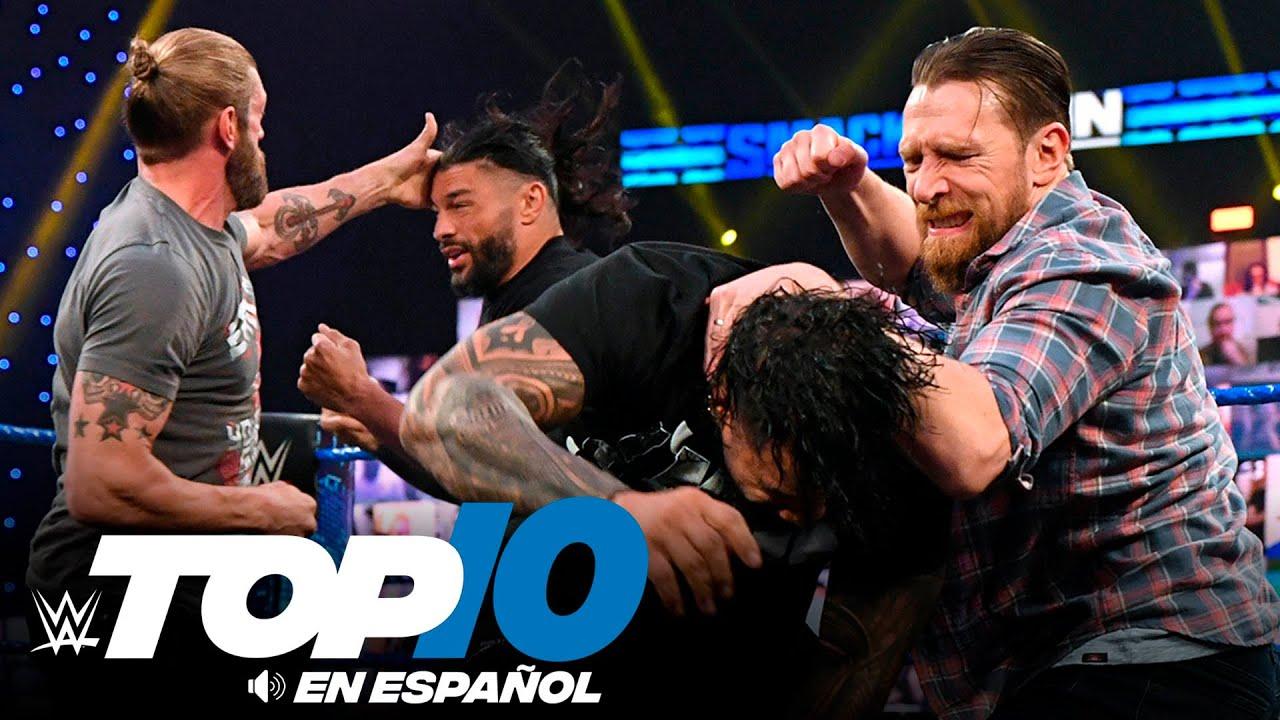 Top 10 Mejores Momentos de SMACKDOWN: WWE Top 10, Mar 12, 2021