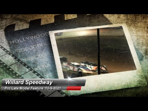 Willard Speedway - Pro Late Model Feature - 10/9/2021 - dirt track racing video image