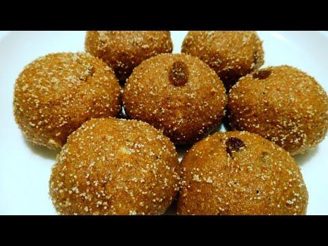 ગોળ નાં ચુરમાંના લાડવા   Gujarati Churma na Ladoo recipe - UCmWaIBcxnoiGPd7ciPL2YNg