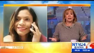 """""""Ha pensado incluso en el suicidio"""": esposa del coronel detenido Johnny Mejías"""