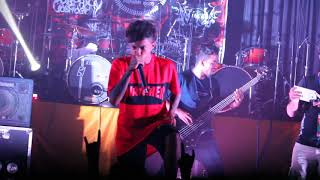 The prosthtic burial live at abominatio - deathcore , Metal