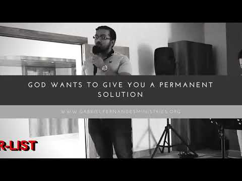 GOD WANTS TO GIVE YOU A PERMANENT SOLUTION, Daily Promise and Powerful Prayers