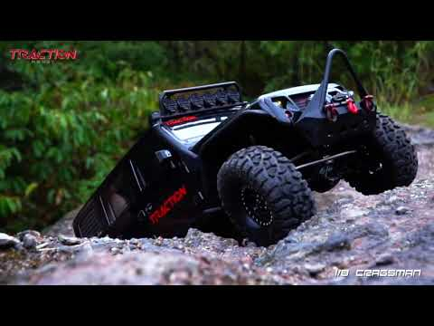 Traction Hobby 1 8 Scale Trail RC Crawler Cragsman Performance Show - UCflWqtsSSiouOGhUabhKTYA