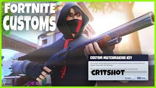 🔴(EU) FORTNITE CUSTOM MATCHMAKING SCRIMS LIVE WITH SUBS | PS4, XBOX, PC, MOBILE, NINTENDO