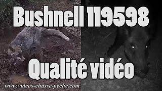 Qualité des vidéos du Bushnell Wireless 119598