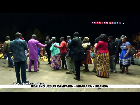 WATCH THE HEALING JESUS CAMPAIGN, LIVE FROM MBARARA - UGANDA. DAY 3.