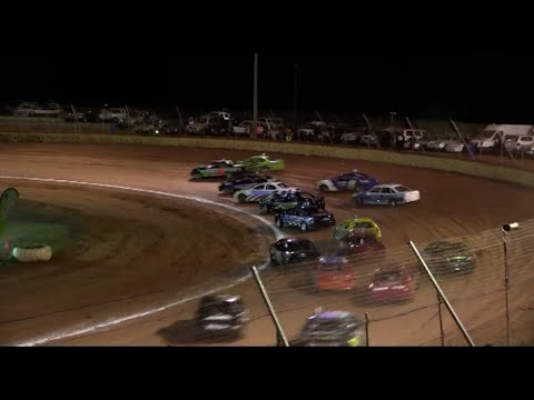 2013/14 National Modified Sedan Title (Night 2): Albany Speedway   20th April 2014 - dirt track racing video image