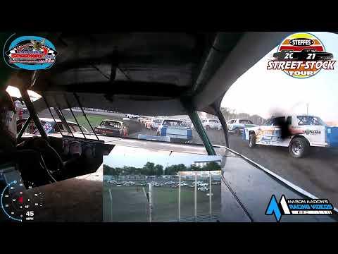 #539 Aaron Blacklance WISSOTA Street Stock On-Board @ River Cities (7/2/21) - dirt track racing video image