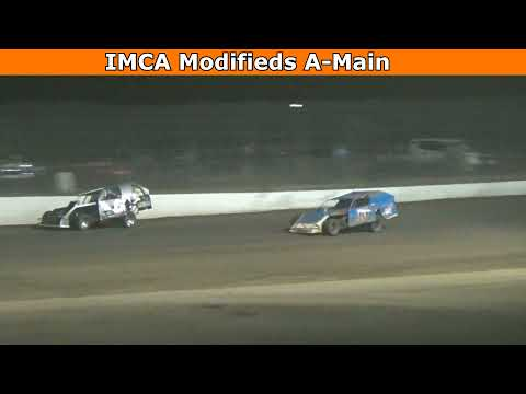 Grays Harbor Raceway, August 14, 2021, IMCA Modifieds A-Main - dirt track racing video image