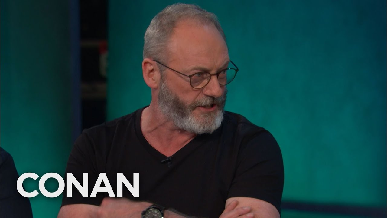 "Liam Cunningham's Secret To Surviving ""Game of Thrones"" – CONAN on TBS"
