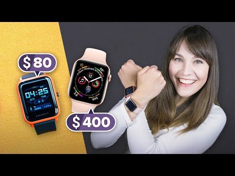 Apple Watch vs. Amazfit Bip: Best value smartwatch - UCOmcA3f_RrH6b9NmcNa4tdg