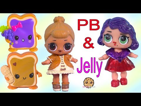 LOL Surprise Peanut Butter & Jelly BFF Doll DIY Craft Makeover Painting Video - UCelMeixAOTs2OQAAi9wU8-g
