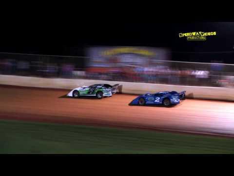 Sportsman at 411 Motor Speedway Aug. 23 , 2014 - dirt track racing video image