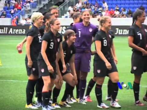 Đội bóng đá nữ Hoa Kỳ (VOA)