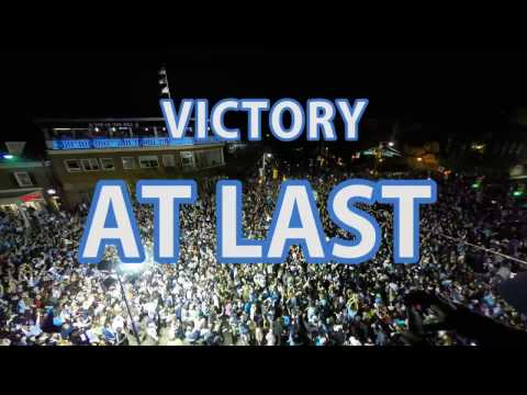 After UNC's men's basketball team defeated Gonzaga in the NCAA Championship, 55,000 people rushed Franklin Street.
