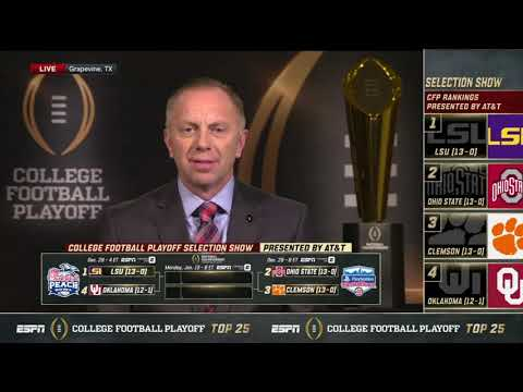 CFP Selection Committee Chair Rob Mullens chats with ESPN on Selection Day (Part 2)