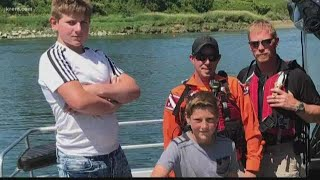 'They're just considered heroes to me': Bonners Ferry brothers save boy from drowning