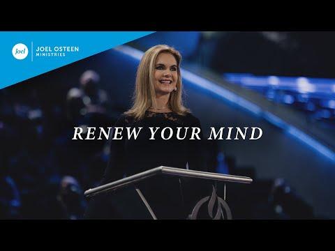 Renew Your Mind  Victoria Osteen