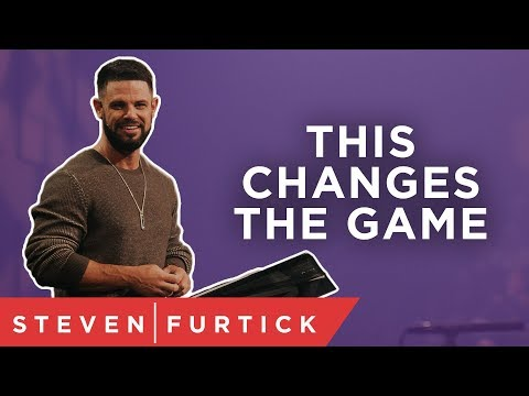 This changes the game.  Pastor Steven Furtick