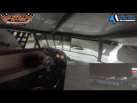 #9 Torey Fischer IMCA Sport Mod On-Board @ Buffalo River (9/12/21) - dirt track racing video image