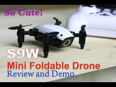 SUPER SMALL, SUPER COOL! The S9W Foldable Drone Review & Demo - UCm0rmRuPifODAiW8zSLXs2A