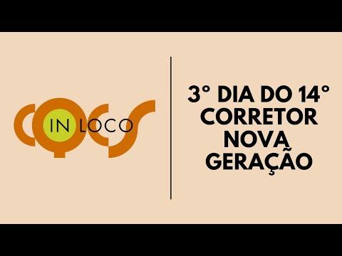 Imagem post: 3º dia do 14º Corretor Nova Geração