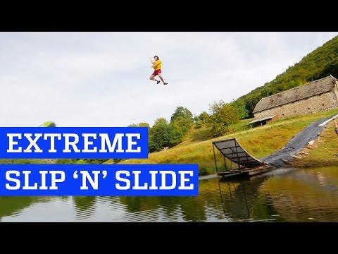Extreme Slip 'n' Slide! | People are Awesome - UCIJ0lLcABPdYGp7pRMGccAQ