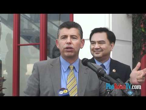 Phó thống đốc California Abel Maldonado tới Little Saigon vận động tranh cử
