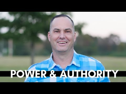 What Are You Doing With Your Power & Authority?  - Joe Joe Dawson
