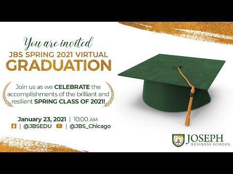 Joseph Business School Graduation