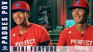 Kevin Sim & Jordan Thompson play in The Perfect Game All-American Baseball Classic | Padres POV
