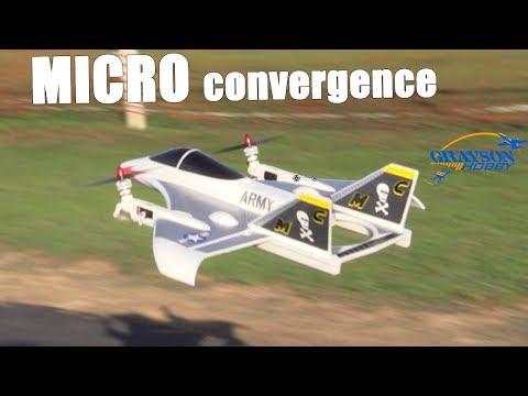 SkyHawk V2 Twin Rotor FPV Plane Maiden Flight with Xenon Strobes