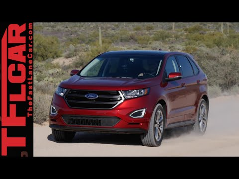 2015 Ford Edge First Drive Review in TFL4K: A New, New Age Crossover - UC6S0jAvcapqJ48ZzLfva12g