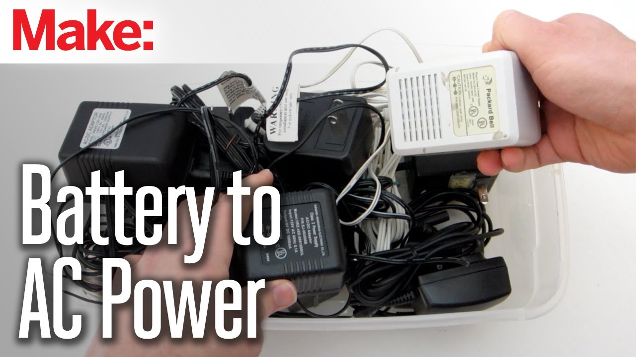 Diy Hacks Amp How To S Convert A Battery Powered Device To