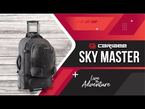 2016 Caribee Sky Master 70 & 80 travel packs - UCIqYbc-pTAiZdf5B1ORX83g