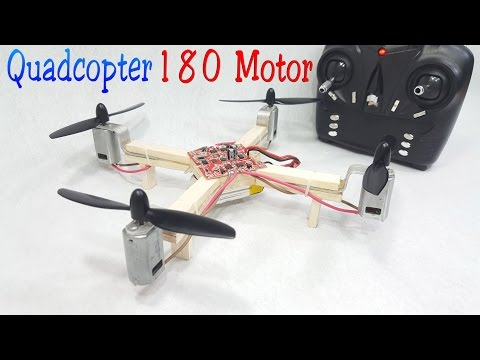 How to make a RC Quadcopter Using 180 motor - UCFwdmgEXDNlEX8AzDYWXQEg