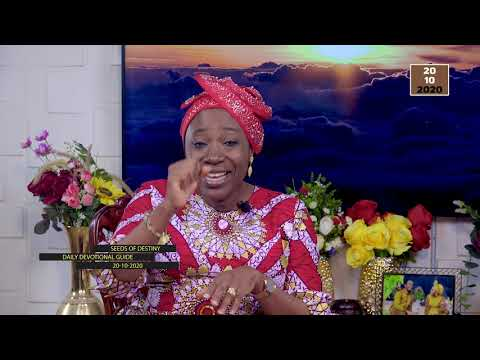 Dr Becky Paul-Enenche - SEEDS OF DESTINY - TUESDAY OCTOBER 20, 2020