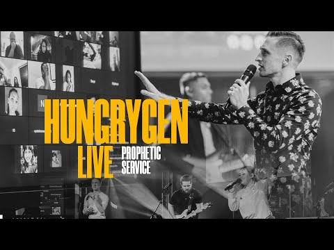 HungryGen LIVE  Healing, Deliverance, and Prophecy  12.02.20