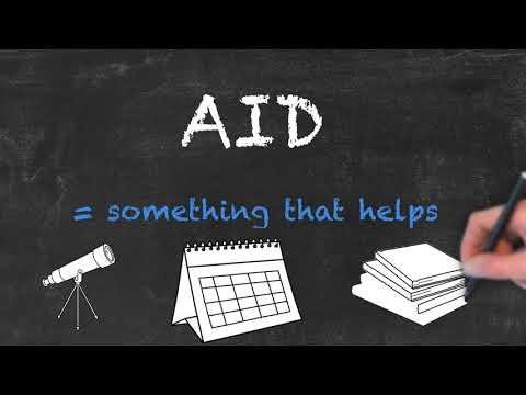 Aid vs Aide - English Grammar - Teaching Tips