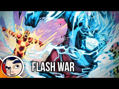 "Flash War ""The End of The Flash!"" - Rebirth Complete Story 