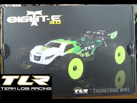 Unboxing: Team Losi Racing 8IGHT-TE 3.0 1/8 Electric Truggy - UC2SseQBoUO4wG1RgpYu2RwA