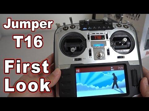 Jumper T16 OpenTX Radio FIRST LOOK  - UCnJyFn_66GMfAbz1AW9MqbQ