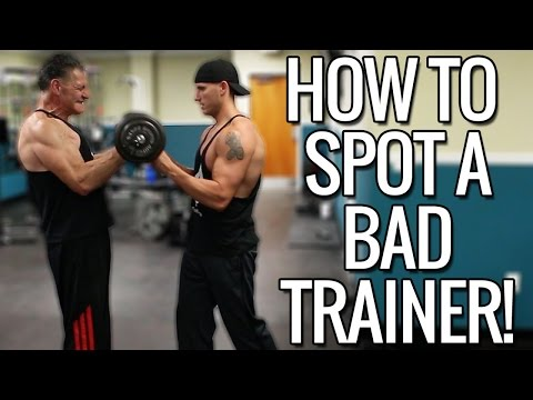 How To Spot A Bad Personal Trainer / Coach - UCHZ8lkKBNf3lKxpSIVUcmsg